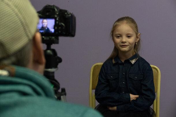 В Петербурге дети приняли участие в кастинге для фильма «Счастье в конверте»