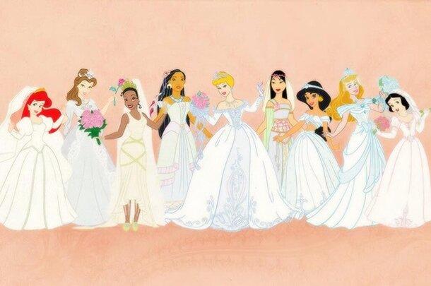 Disney выпустит свадебную коллекцию платьев принцесс из популярных мультфильмов