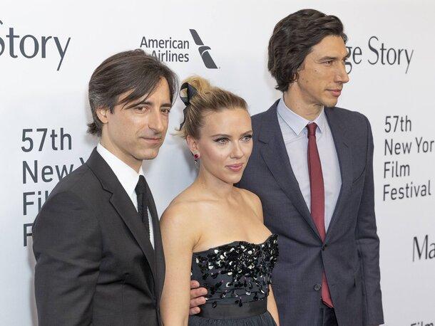 Фото: Адам Драйвер и Скарлетт Йоханссон представили «Брачную историю» на кинофестивале в Нью-Йорке