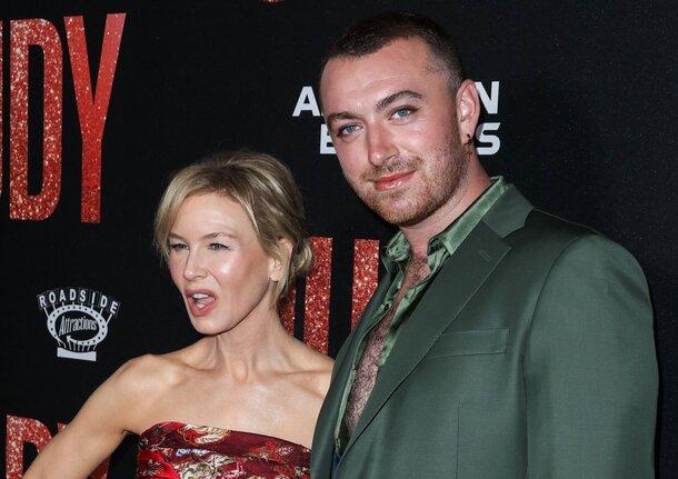 Рене Зеллвегер и Сэм Смит представили «Джуди» на красной дорожке в Лос-Анджелесе