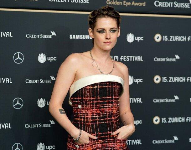 Кристен Стюарт получила награду «Золотая икона» на кинофестивале в Цюрихе
