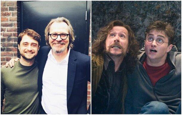 Воссоединение Гарри Поттера и Сириуса Блэка: Дэниел Рэдклифф и Гэри Олдман встретились на кинофестивале в Торонто