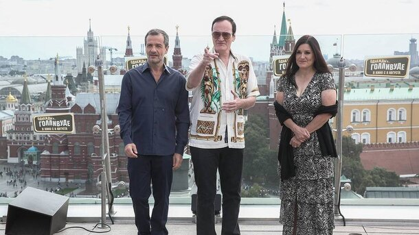 Интервью Киноафиши: Продюсеры фильма «Однажды... в Голливуде» рассказали о «неудобном» режиссёре и его взрослении