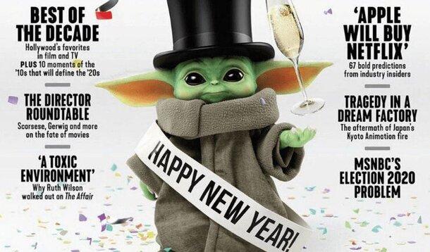 Не Time, но тоже неплохо: малыша Йоду поместили на обложку The Hollywood Reporter
