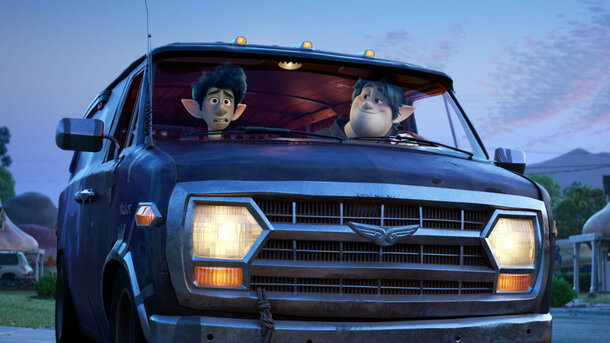 Появились первые кадры из нового мультфильма Pixar «Вперёд»