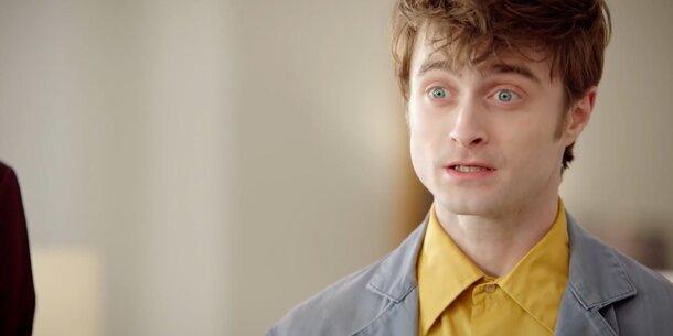 Ангел-волшебник Дэниел Рэдклифф в промо-ролике сериала «Чудотворцы»