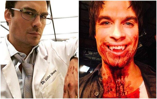 Звезда «Дневников вампира» Йен Сомерхолдер показал первые кадры своего нового «вампирского» сериала для Netflix