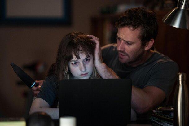 Арми Хаммер и Дакота Джонсон сходят с ума в трейлере хоррора «Раны»