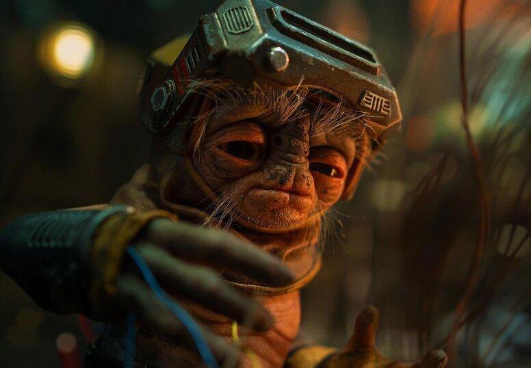 Disney показал первое фото нового персонажа из «Звездных войн: Скайуокер. Восход»