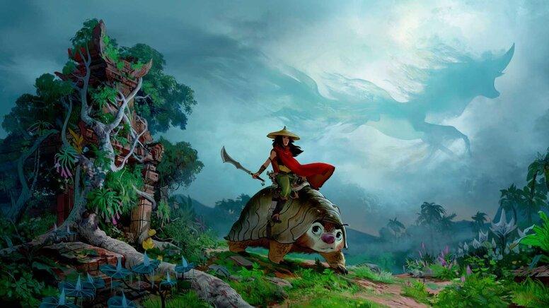 Disney анонсировал мультфильм «Райя и последний дракон»