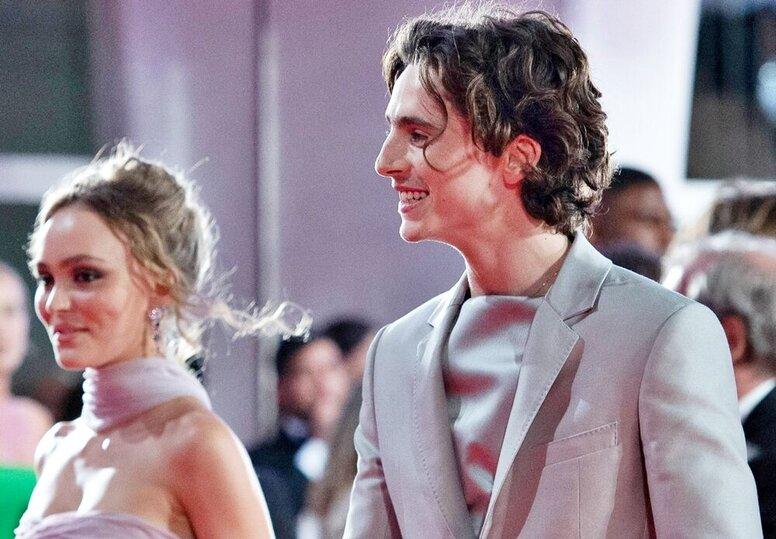 Новое поколение звезд: Тимоти Шаламе и Лили Роуз Депп на премьере «Короля» в Венеции