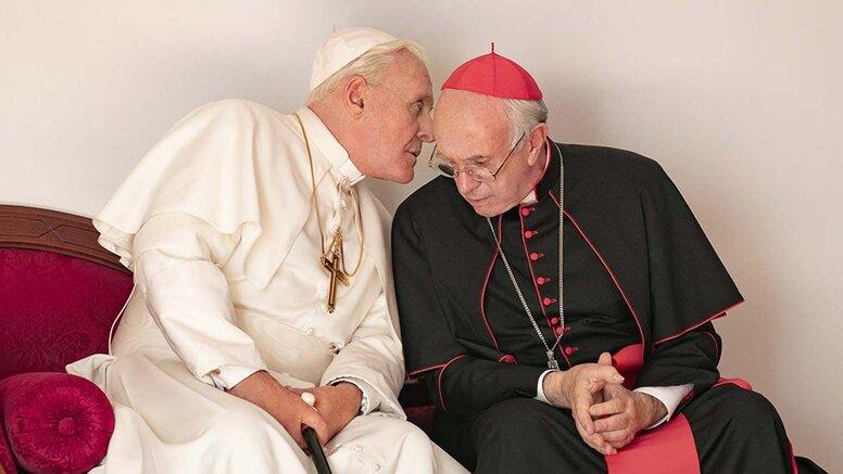 Перемены: Вышел трейлер фильма «Два Папы» с Энтони Хопкинсом
