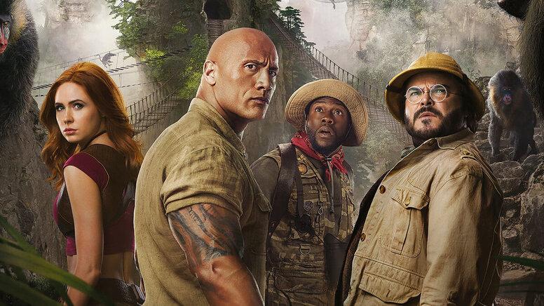 Дуэйн Джонсон и Кевин Харт назвали 5 причин смотреть «Джуманджи: Новый уровень» в интервью Киноафише