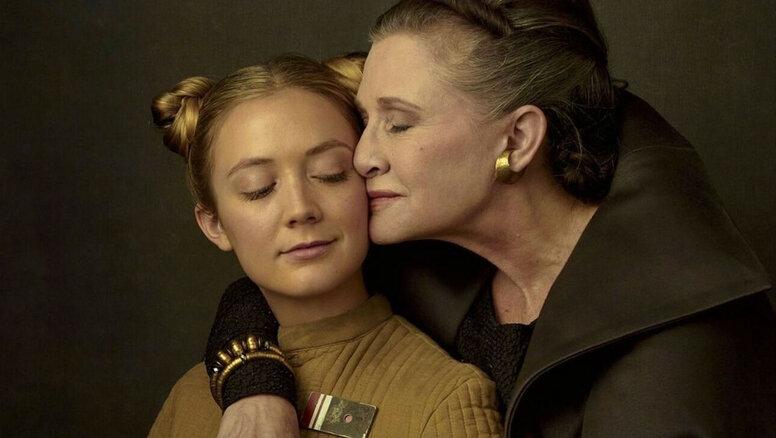 «Звёздные войны»: Билли Лурд настояла насцене спокойной матерью Кэрри Фишер