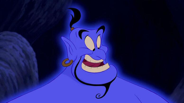Трейлер «Аладдина»: А джинн-то синий