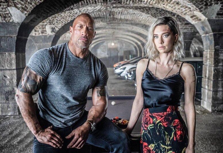 Дуэйн Джонсон и Ванесса Кирби на новом кадре спин-оффа «Форсажа»