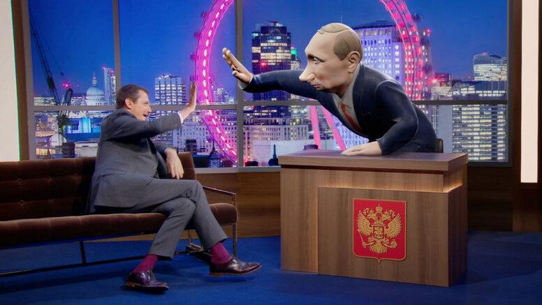 ВВС запустит ток-шоу с анимированным Владимиром Путиным