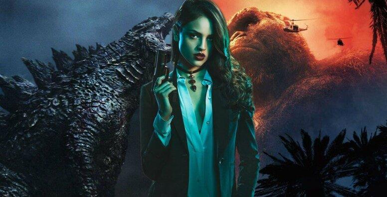 Эйса Гонсалес и Ребекка Холл снимутся в фантастическом экшне «Годзилла против Конга»