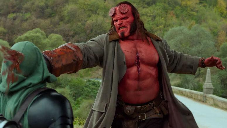 Дэвид Харбор назвал Marvel одной изпричин провала «Хеллбоя»