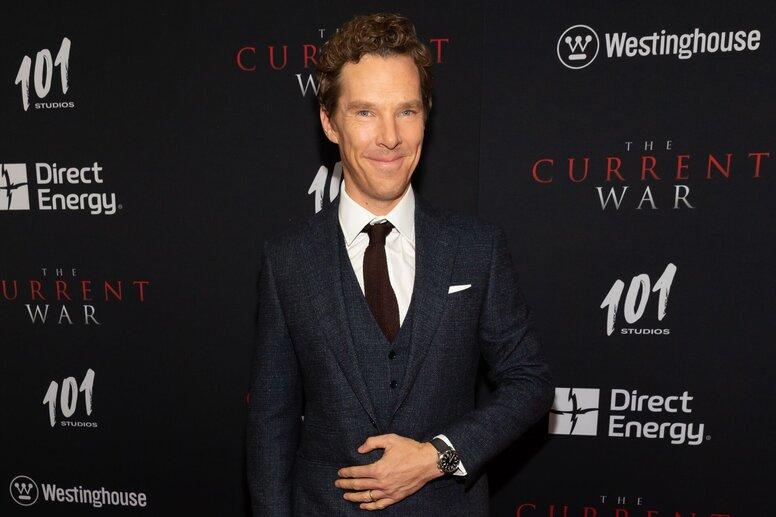 Бенедикт Камбербэтч представил «Войну токов» на красной дорожке нью-йоркской премьеры