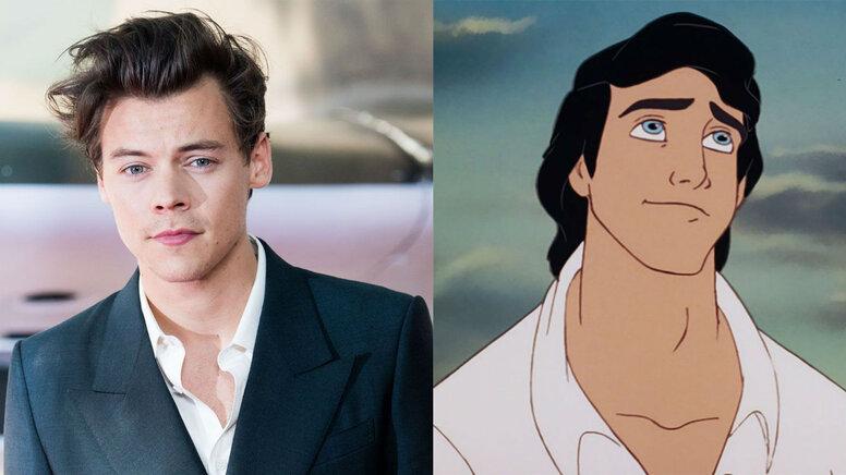 Гарри Стайлс может сыграть принца в «Русалочке»