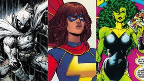 Marvel анонсировал сериалы «Женщина-Халк», «Лунный рыцарь» и «Мисс Марвел»
