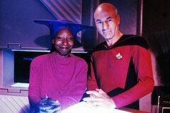 Патрик Стюарт официально пригласил Вупи Голдберг сняться во 2 сезоне сериала «Звездный путь: Пикар»