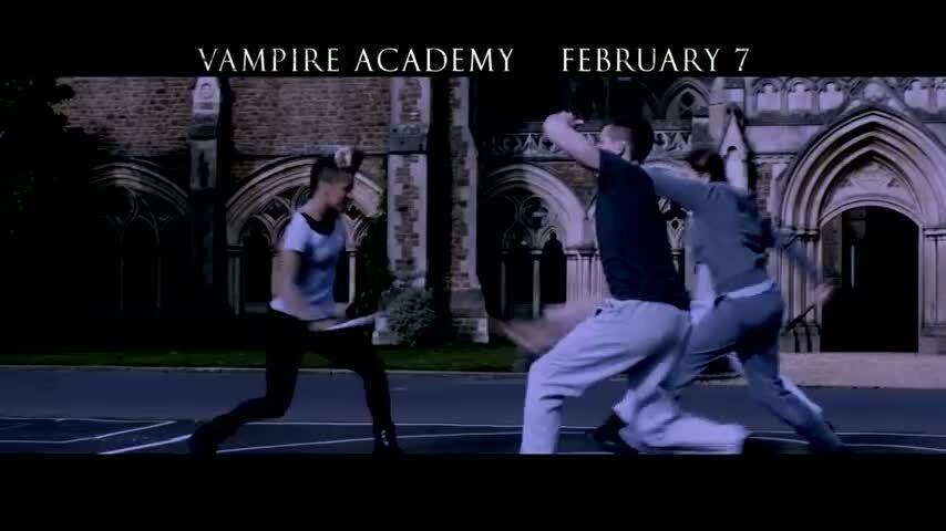 Академия вампиров - тв ролик 2