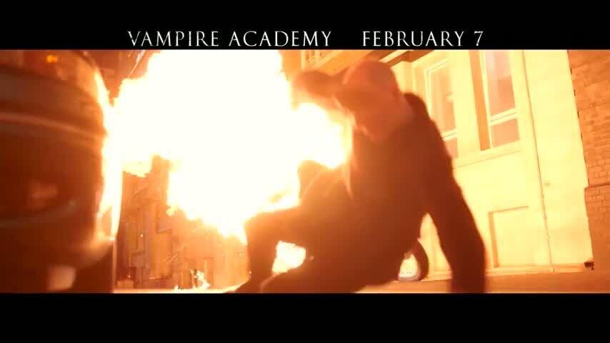 Академия вампиров - тв ролик 5