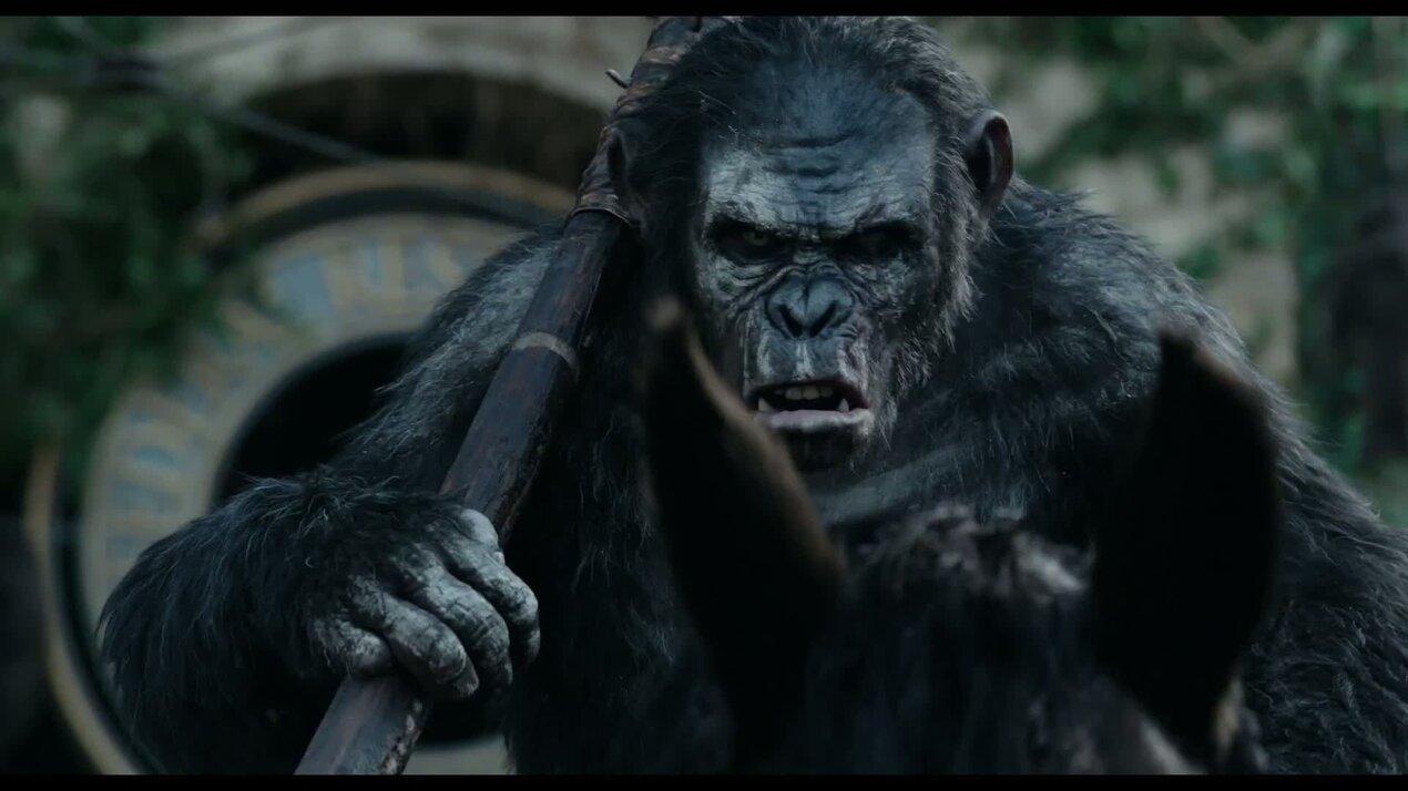 Планета обезьян: Революция - трейлер 2