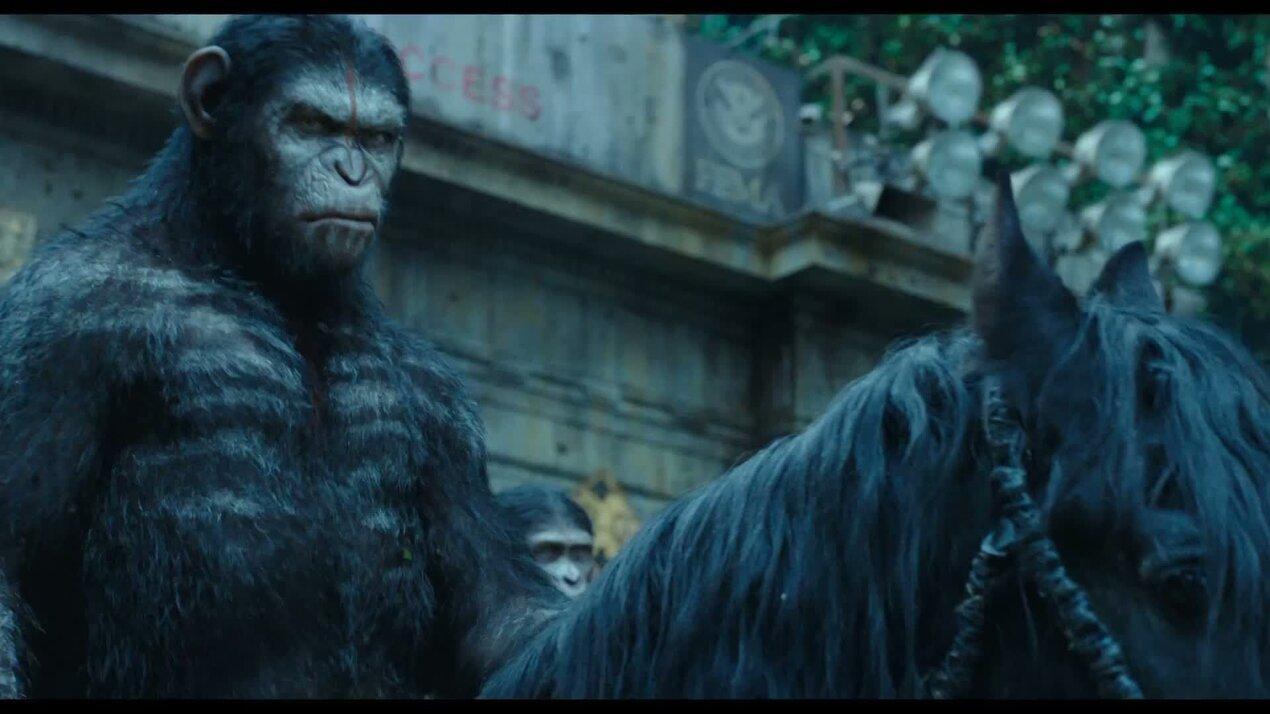 Планета обезьян: Революция - дублированный международный трейлер 2