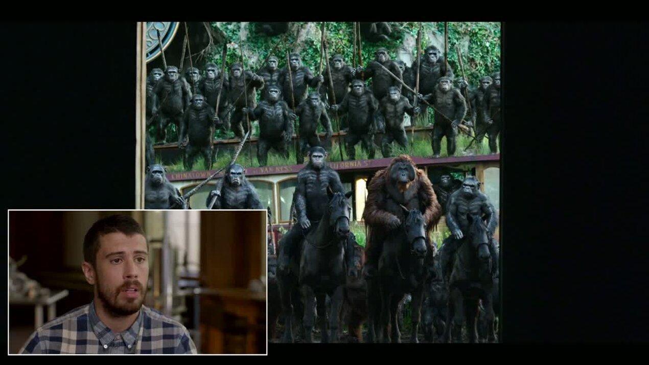 Планета обезьян: Революция - отрывок 5