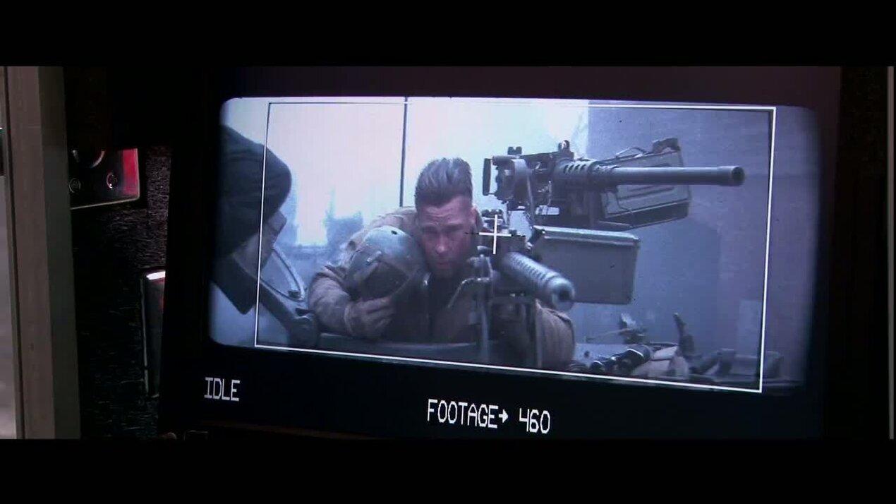 Ярость - дублированный ролик о съемках 2