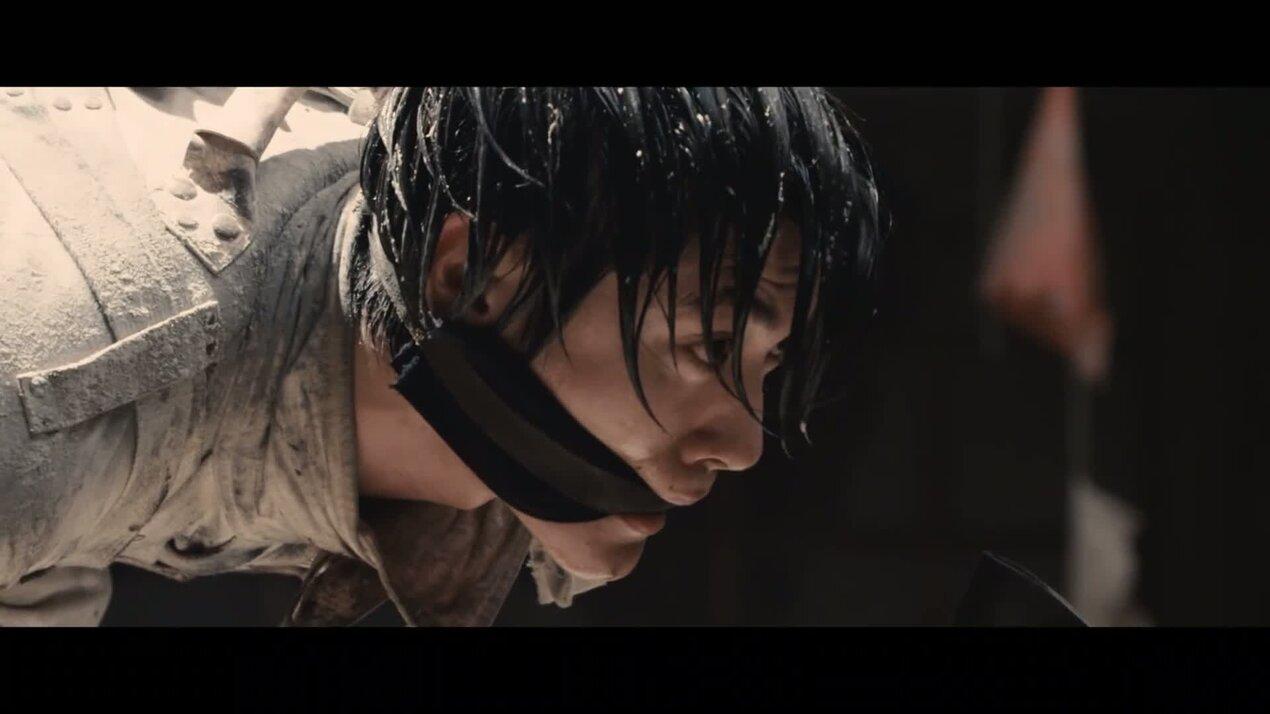 Атака титанов. Фильм второй: Конец света - дублированный трейлер