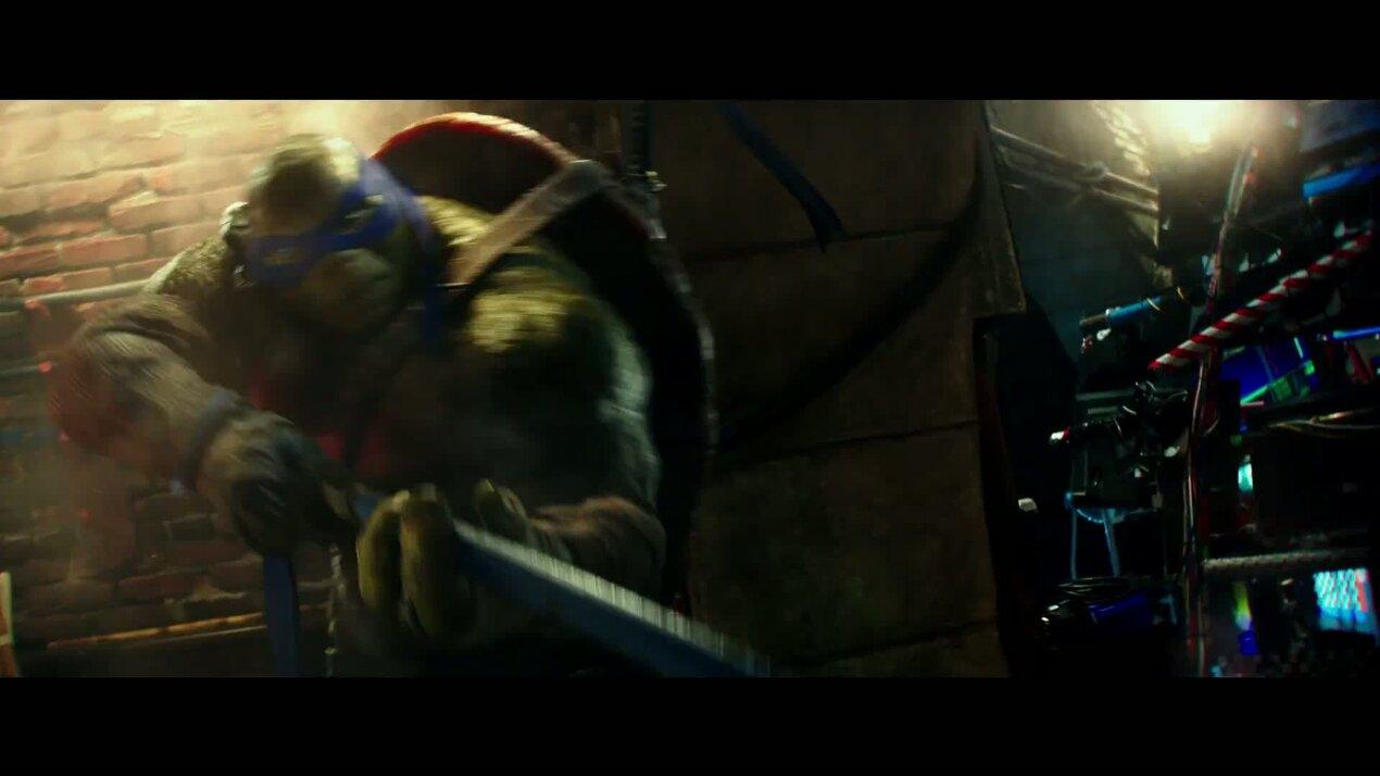 Черепашки-ниндзя 2 - дублированный трейлер