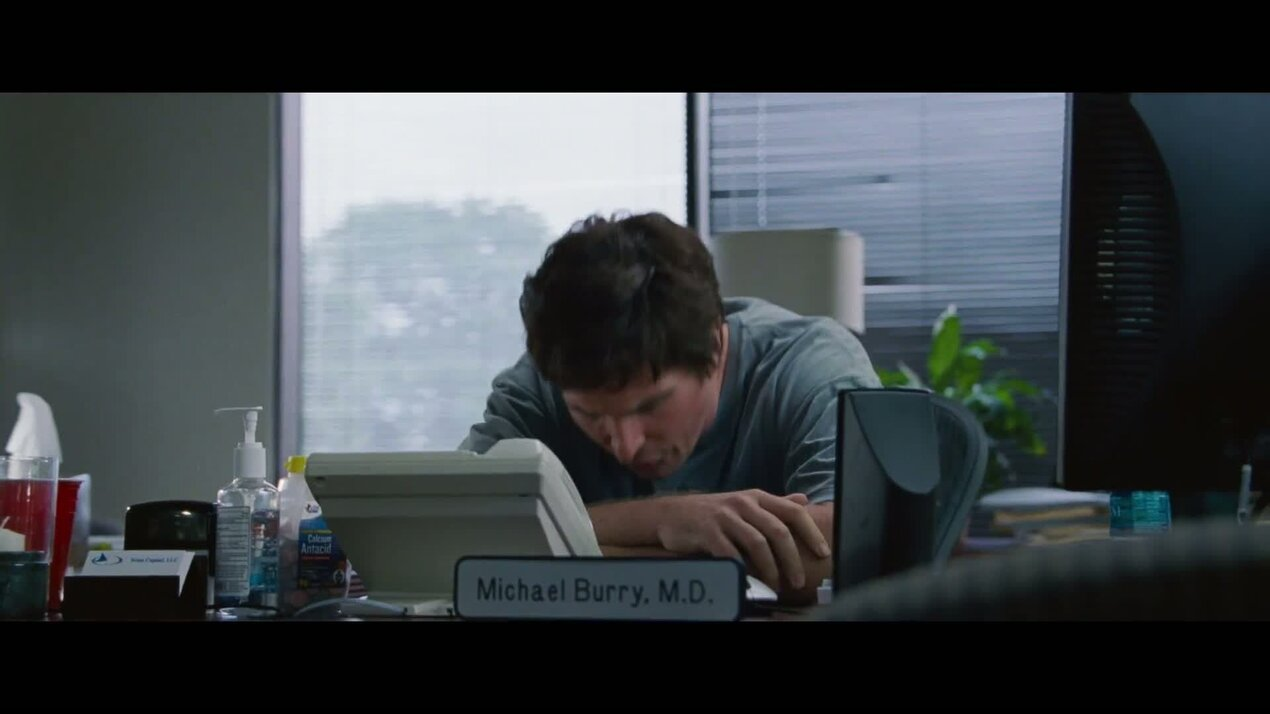 Игра на понижение - ролик о создании 3: о персонаже Кристиана Бейла