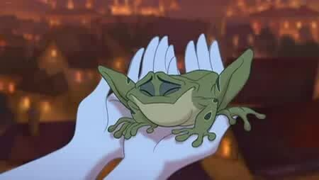 Принцесса и лягушка - тизер
