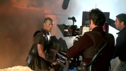 Битва Титанов - видео со съемочной площадки