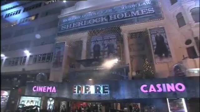 Шерлок Холмс - репортаж с премьеры в Лондоне