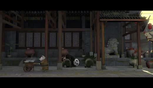 Кунг-Фу Панда 2 - отрывок 4