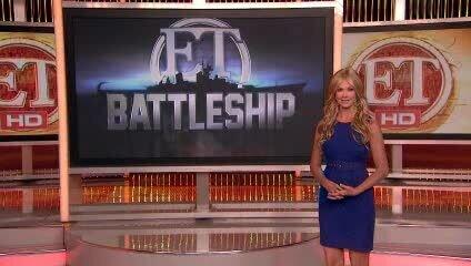 Морской бой - репортаж канала ET о съемках