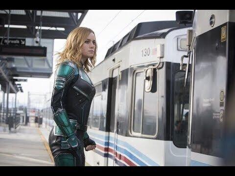 Капитан Марвел - дублированный ролик с Супербоула