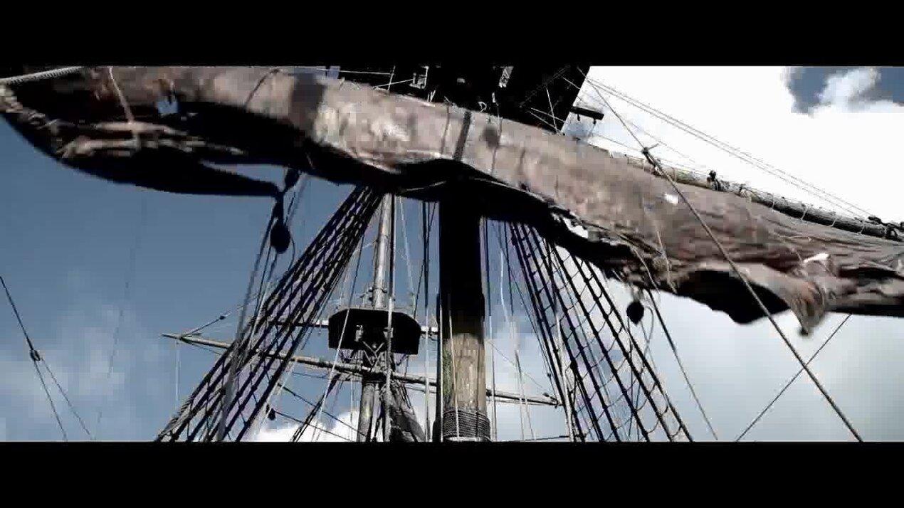 Пираты Карибского моря: На странных берегах - ролик о создании 1
