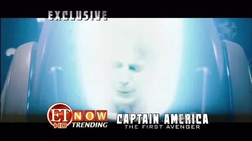 Первый мститель - репортаж канала ET о съемках 2