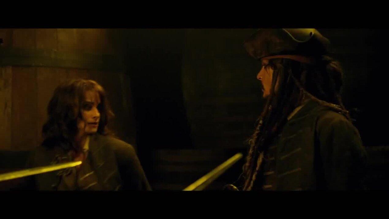 Пираты Карибского моря: На странных берегах - дублированный ролик: Джек и Анжелика