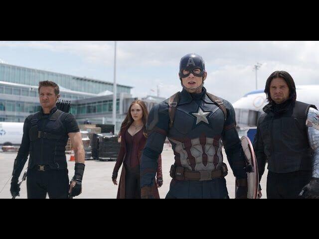 Первый Мститель: Противостояние - дублированный трейлер 2