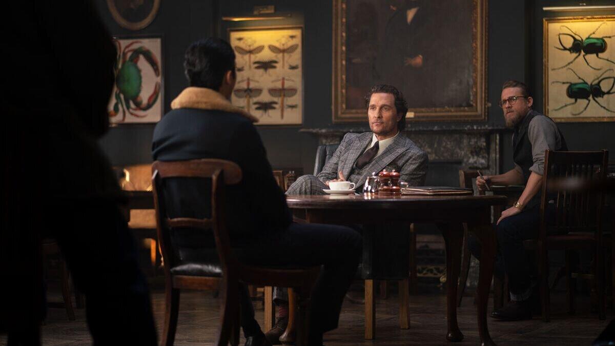 Джентльмены - второй дублированный трейлер